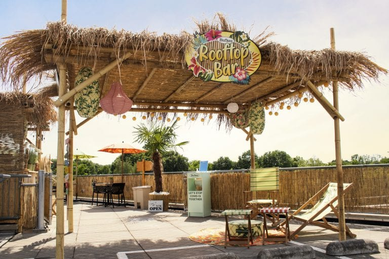 Bufkes: genieten in de Rooftop Bar